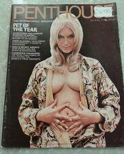 Penthouse Magazine Vol.5 No.12 1971 Lottie Gunthart,Pet Of Year Kely McQueen,