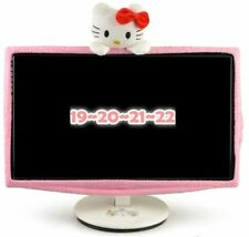 Hello Kitty Flat Screen Computer PC Monitor Dust Cover / Screen Protector