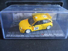 Rally Model Car IXO 1:43 SEAT IBIZA GTI KIT CAR Monte Carlo 1999 Gardemeister