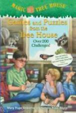 Games and Puzzles from the Tree House by Mary Pope Osborne NEW Paperback