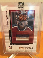 Patrick Roy 2009-2010 #SP21 ITG Superlative Game Used Patches Silver 1/30