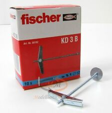 7 x FISCHER Dübel 80192 Federklappdübel KD 3 B VPE = 10 Stück - NEU