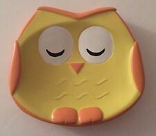 Owl Resin Soap Dish New