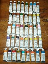 Williamsburg Oil Paint lot of (41) 37mL tubes HIGH SERIES BRAND NEW