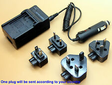 Battery Charger For DMW-BCD10 Panasonic Lumix DMC-TZ1 DMC-TZ2 DMC-TZ3 DMC-TZ4