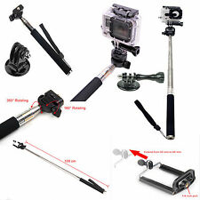GoPro Accessories Monopod Ski Pole Handle with tripod mount Bonus Screw