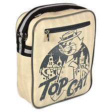 NEW Top Cat Cartoon Holiday Travel Flight Shoulder Bag Cool Retro Funky