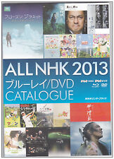 Japan All NHK DVD NHK Video Bluray 2013 Catalogue 258pages Rare Japanese version
