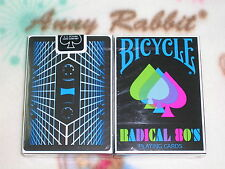 1 deck Bicycle Radical 80's Playing Cards - Limited Edition - SEALED