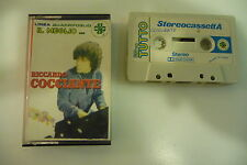 RICHARD COCCIANTE K7 AUDIO TAPE CASSETTE .IL MEGLIO MARGHERITA. ITALY PRESS.