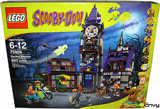 2015 LEGO Scooby Doo #75904 Mystery Mansion MISB New Sealed