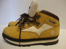 KIDS UNISEX TIMBERLAND EURO HIKER ANKLE WINTER SUEDE HIKING BOOTS SHOES SIZE 2