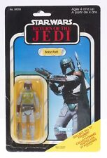 Star Wars Vintage Kenner Canada ROTJ 77 Back Boba Fett MOC Resealed...VERY RARE!