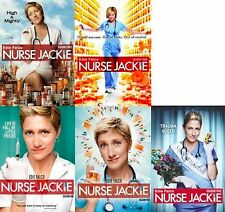 Nurse Jackie Seasons 1 2 3 4 5 DVD Set Complete Bundle Collection TV Series Show