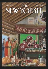 The New Yorker December 2014: First Thanksgiving- Angela Merkel, Michelle Obama