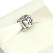 * New! Authentic Pandora Birthday Milestone 21 Bead 791048 with Gift Pouch
