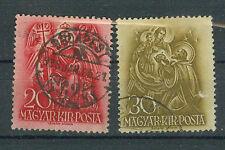 Briefmarken Ungarn 1938 Hl. Stephan Mi.Nr.558+60