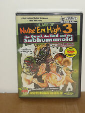 Class of Nuke 'Em High 3: The Good, the Bad and the Subhumanoid (DVD) BRAND NEW!