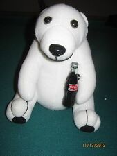 1993 Coca-Cola plush bear