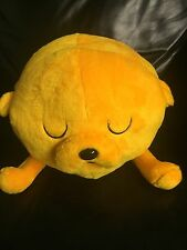 "Adventure Time 16"" Cuddle Plush Pillow Jake And Finn Official Sleeping Jake"