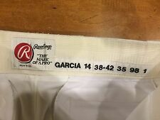 1998 Pittsburgh Pirates Freddy Garcia Pants RAWLINGS GAME USED  w/ LAUNDRY TAG