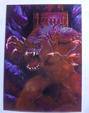 Star Wars 1996 Finest Base All Chrome Number 78 Rancor