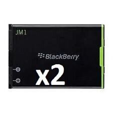 2 NEW BLACKBERRY JM1 JM-1  REPLACEMENT BATTERY Bold ,9900,9930 Torch 9850,9860