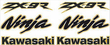 ZX-9R Fairing Decals / Stickers - Sticker Kit - Set of 6 Decals (Any Colour)
