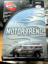 HOT WHEELS 100% Motor Trend Magazine Series Silver Hummer
