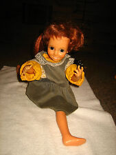 "VINTAGE IDEAL LOOK AROUND CRISSY DOLL~APPROX. 17"" TALL~L@@K"