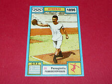 N°20 PARASKEVOPOULOS PANINI OLYMPIA 1896 - 1972 JEUX OLYMPIQUES OLYMPIC GAMES
