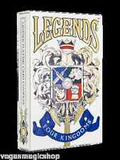 Legends Four Kingdoms Deck Playing Cards Fantasy Game LPCC Custom Limited Sealed