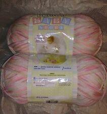 2 x  Bernat Baby Sport Yarn #44413 Tiny Tulips 240 g / 8.5 oz * Free Shipping *