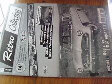 µ?a Revue Retro Collection n°29 Rouler en  Chevrolet Corvette / Citroen SM 1973