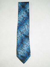 John Ashford Men's Classic Dress Tie 100% Polyester Blue NWT Machine Washable