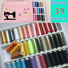 Sale! 39 pcs Spools Multi Colors Overlocking Sewing Thread Sewing thread pack