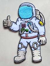Astronaut Thumps Up Hand Symbol Embroidered Iron on Patch Free Shipping