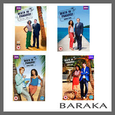 Death in Paradise Series season 1, 2, 3 & 4 DVD R4/Aus New & Sealed BBC