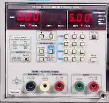 TEKTRONIX TM5000 SERIES PS 5010 TRIPLE PROGRAMMABLE POWER SUPPLY