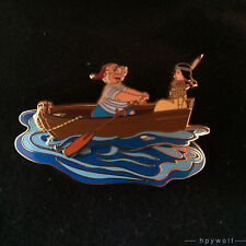 DCL Disney TIGER LILY & MR SMEE Rescue Captain Mickey Pin Event Peter Pan LE Pin