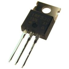 5 IRF530 Vishay Siliconix MOSFET Transistor 100V 14A 88W 0,16R TO220 854043
