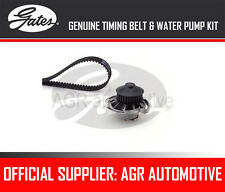 GATES TIMING BELT AND WATER PUMP KIT FOR VW POLO COUPE 1.0 CAT 45 1989-94 OPT2