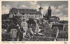 B4568 Nurnberg Burg von Suden front/back scan
