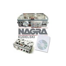 NAGRA REEL TO REEL TAPE RECORDER MANUALS on CD