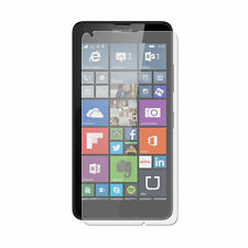 2 x Clear LCD Screen Protector Film Foil Saver For Microsoft Lumia 640 Dual Sim