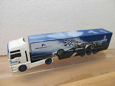 ENS51208 Wiking 1:87 MAN Sattelzug Veltins BMW . Williams F1 Team 2002 ,sehr gut
