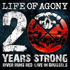 Life Of Agony : 20 YearsStrong: River RunsRed Live In Brussels CD (2010)