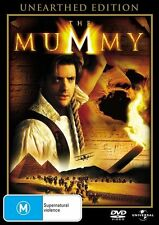 The Mummy Unearthed Edition DVD R4 PAL Brendan Fraser, Brand New Sealed