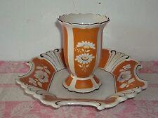 Stadtilm-Thüringer Porzellan-Vase + Schale-Teller