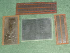 Radio/Electronics.  Project PCB Board. 4 - Pieces.  NOS.
